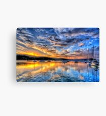 Painters Canvas - Newport NSW - The HDR Experience Canvas Print
