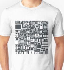 Lock a background2 Unisex T-Shirt