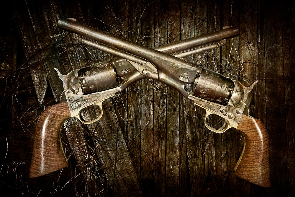 A Brace of Navy Colt Revolvers by Randall Nyhof