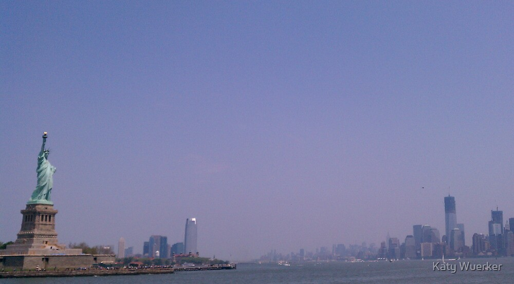 A View from the Water: NYC by Katy Wuerker