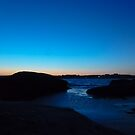 Sundown at Blue Rock  by TomG88