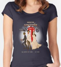 Inspector Spacetime II Women's Fitted Scoop T-Shirt
