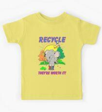 Recycle Kids Tee