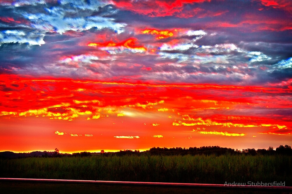 Driving Home Sunset by AWS-PHOTOGRAPHY
