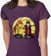 Transylvania Mavis night Womens Fitted T-Shirt