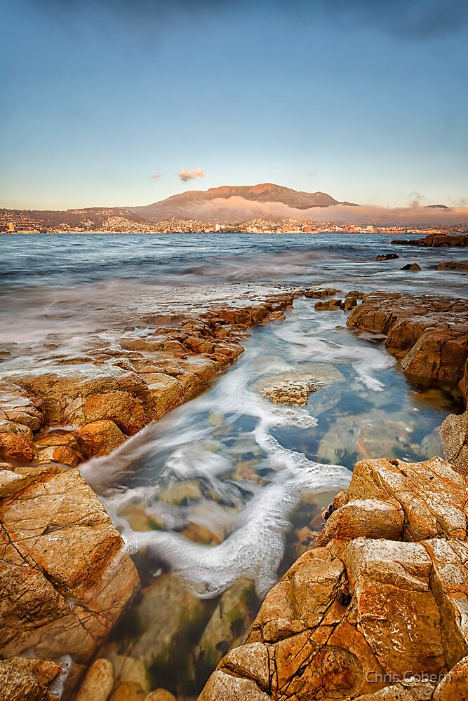 Bellerive Bluff Early Morning, Tasmania #4 by Chris Cobern