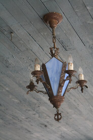 Antique Chandelier  by Molly Quinn