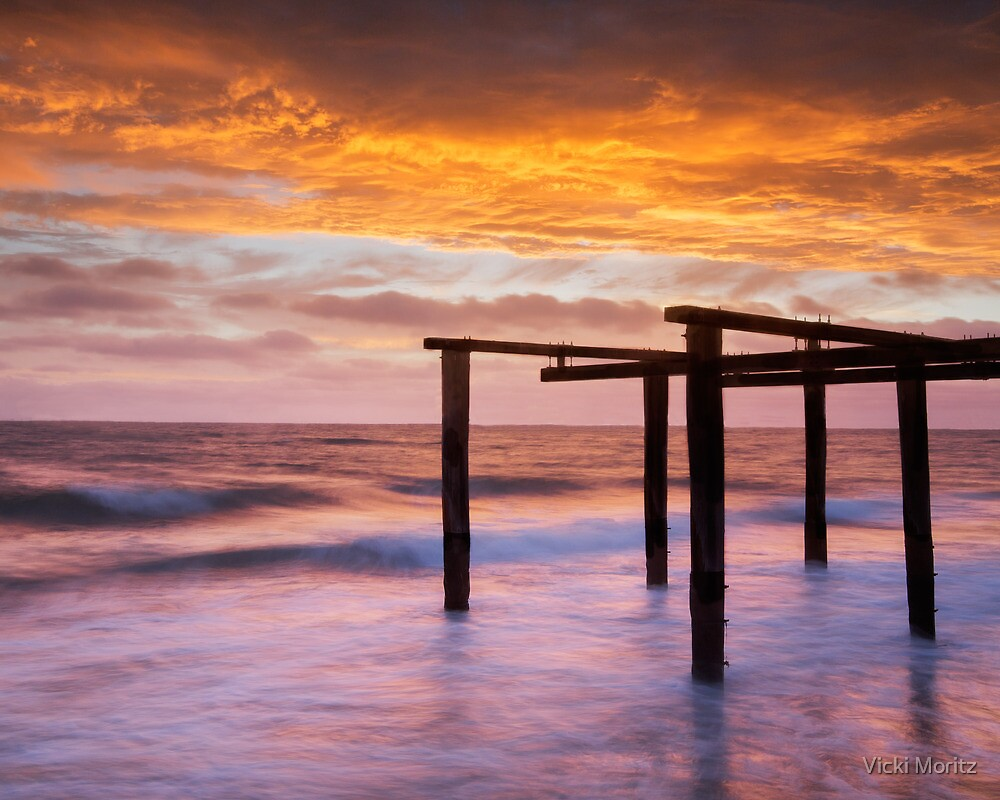 Old Pier, Kerford Rd, Victoria by Vicki Moritz