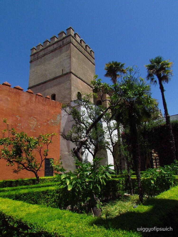 Alcazar Gardens, Sevilla by wiggyofipswich
