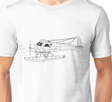 de Havilland Canada (DHC-2) Beaver Blueprint Unisex T-Shirt