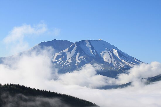 Mount St. Helens by Molly Quinn