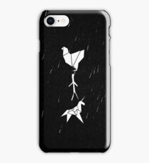 Blade Runner - Origami (Rain) iPhone Case/Skin