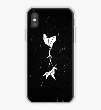 Blade Runner - Origami (Rain) iPhone Case