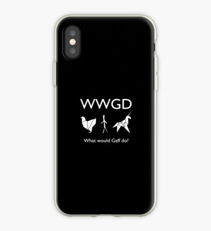 What Would Gaff Do? iPhone Case
