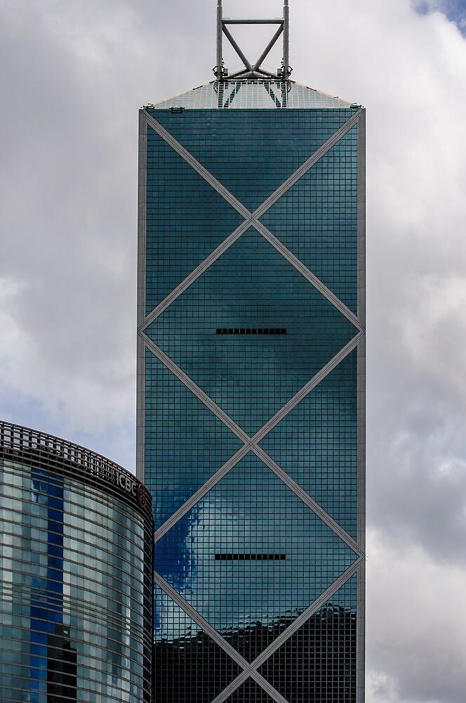 Bank of China, Hong Kong by Dean Bailey