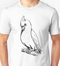 cocky on a perch Unisex T-Shirt
