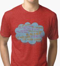 life makes ECHOES. Tri-blend T-Shirt