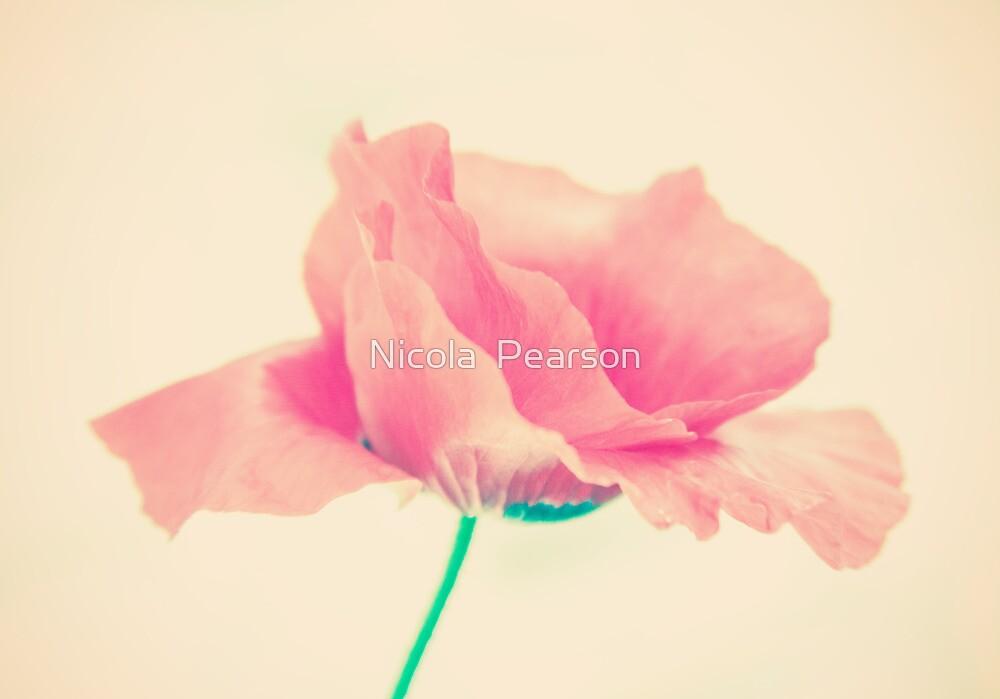 Poppy Art  by Nicola  Pearson