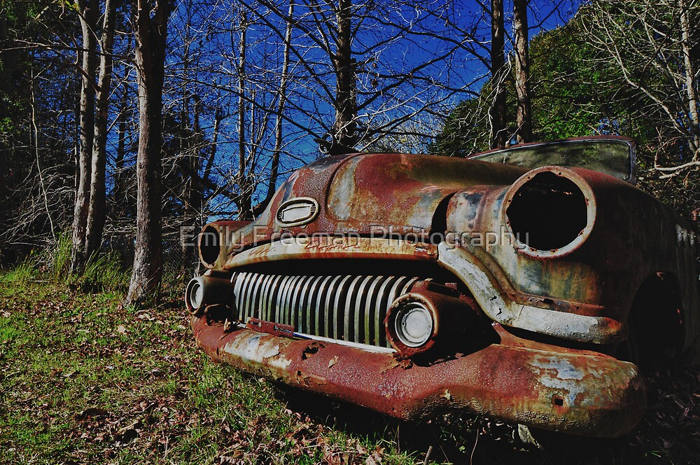 Rusty Buick by Emily Freeman Photography