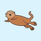 Sea Otter by Zoe Lathey