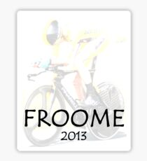 Chris Froome 2013 Sticker