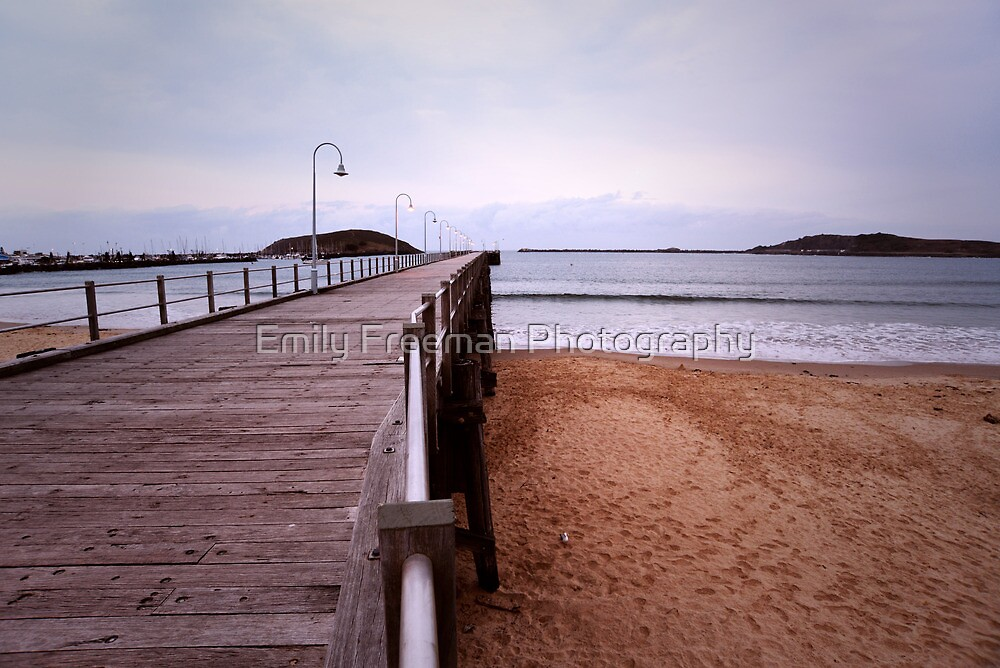 Coffs Harbour Jetty by Emily Freeman Photography