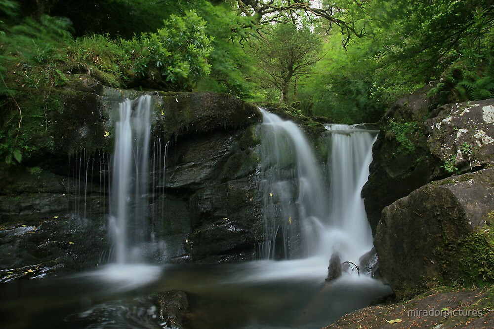 Tumbling waters at torc falls by miradorpictures