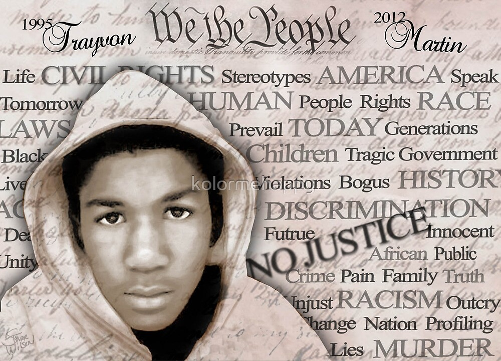 Trayvon Martin ~ Words Can Only Express by kolormehappy