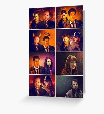 Supernatural - Card/Poster 001 Greeting Card