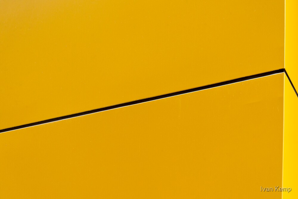 The Colour Yellow #46 by Ivan Kemp