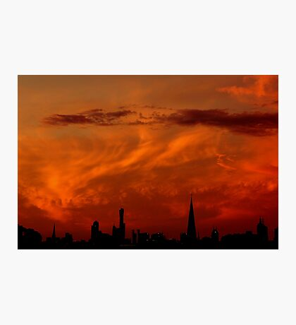 Melbourne Sunset Photographic Print