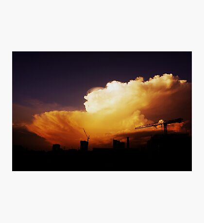 Storm Approaching  Photographic Print