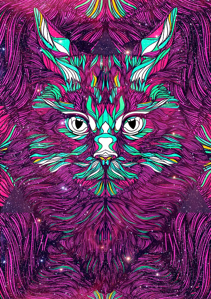 Space Cat by dannyivan