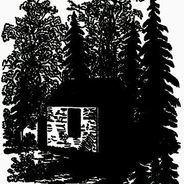 Walden Cabin by Ardentis