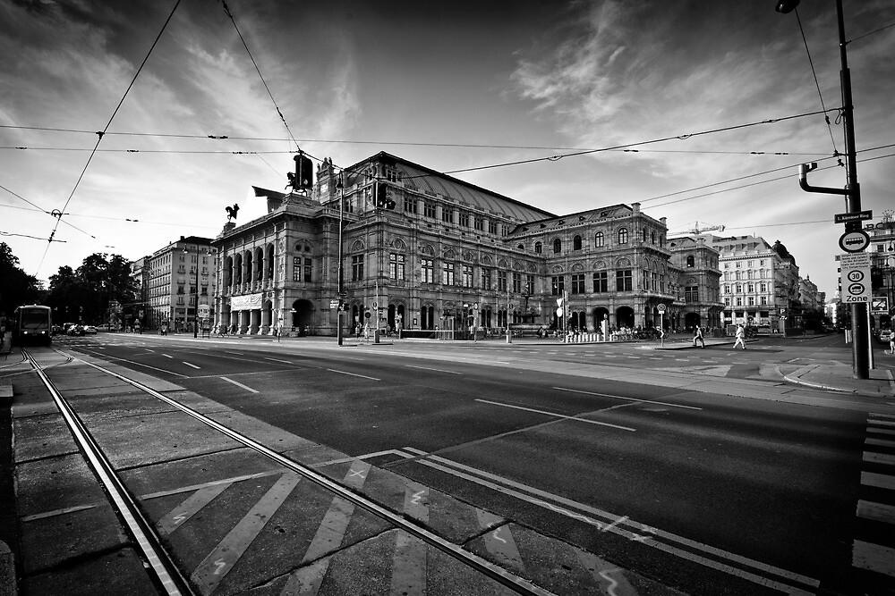 Vienna Opera House by Andrea Rapisarda