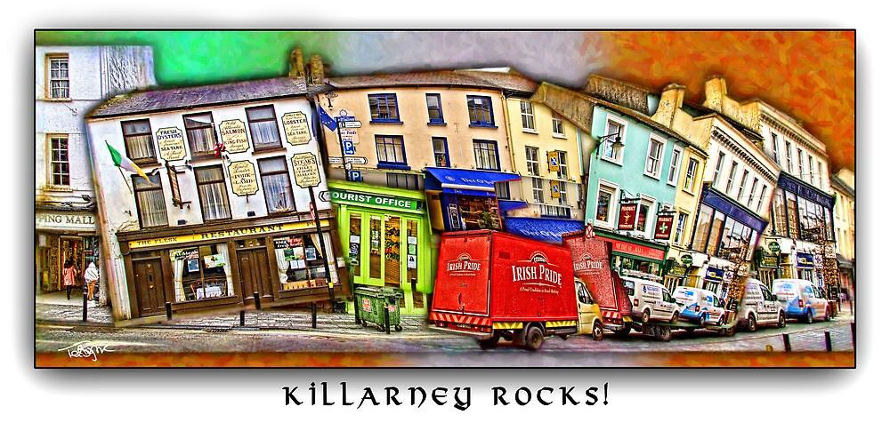 Killarney Rocks by Ted Byrne