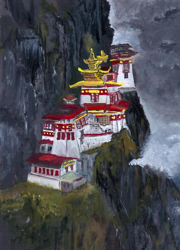 Taktsang Gompa  by sharmabob