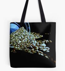 Dont Cry Over Spilled Pumpkin Seeds Tote Bag