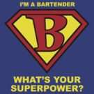 Bartender Superhero by Rich Anderson
