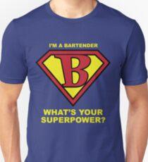 Bartender Superhero T-Shirt