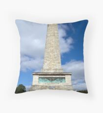 Wellington Testimonial monument in Dublin Throw Pillow