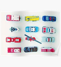 Emergency Vehicles Poster