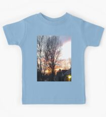 mysterious sunset  Kids Clothes