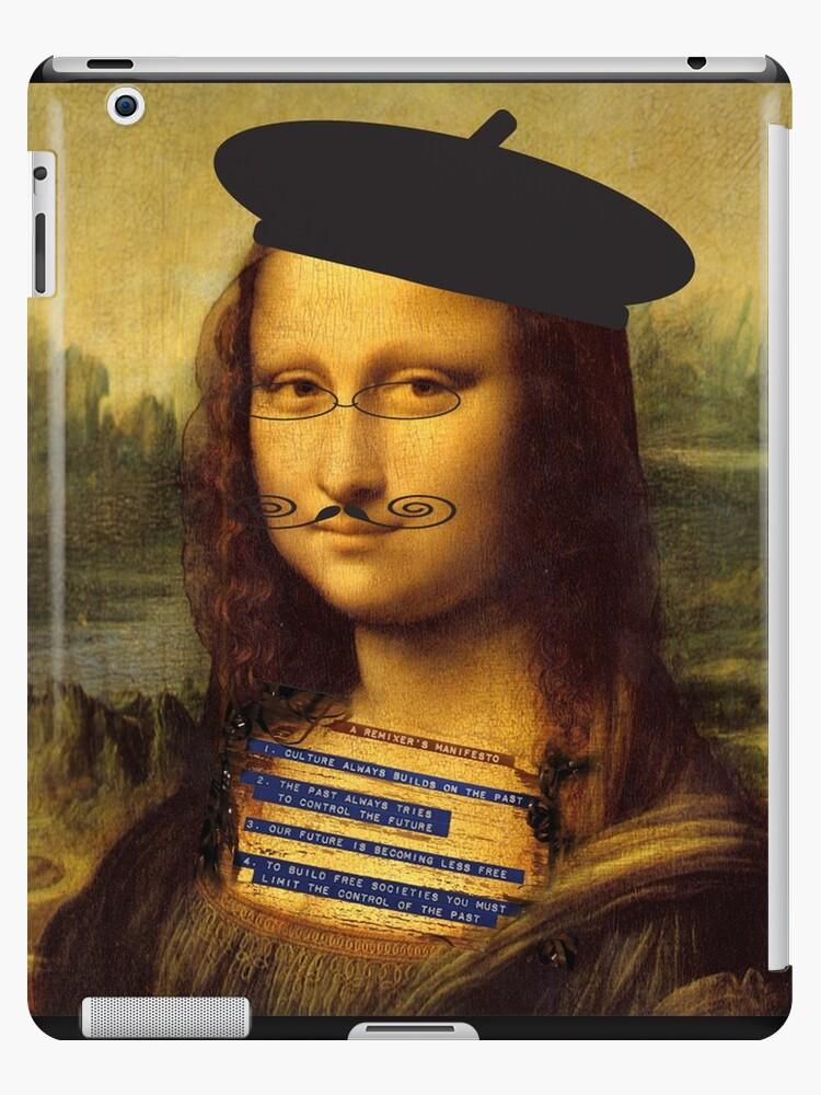 """""""Monalisa Dada Remix"""" iPad Cases & Skins by Maryevelyn ... Dadaism Mona Lisa"""