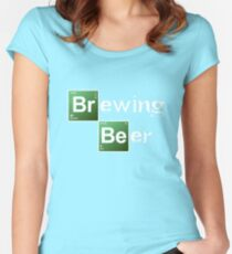 Brewing Beer Women's Fitted Scoop T-Shirt