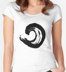 Enso 1 Women's Fitted Scoop T-Shirt