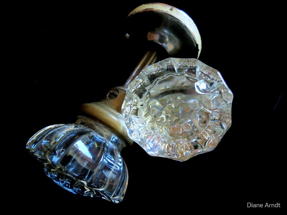 Glass Door Knob's by Diane Arndt