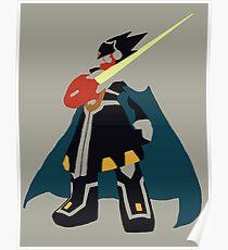 Megaman Battle Net 5 Colonel Poster