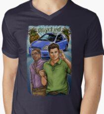 Psyched Mens V-Neck T-Shirt