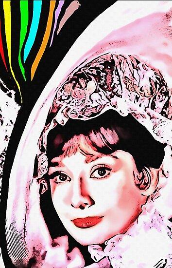 Audrey Hepburn in My Fair Lady by Art Cinema Gallery